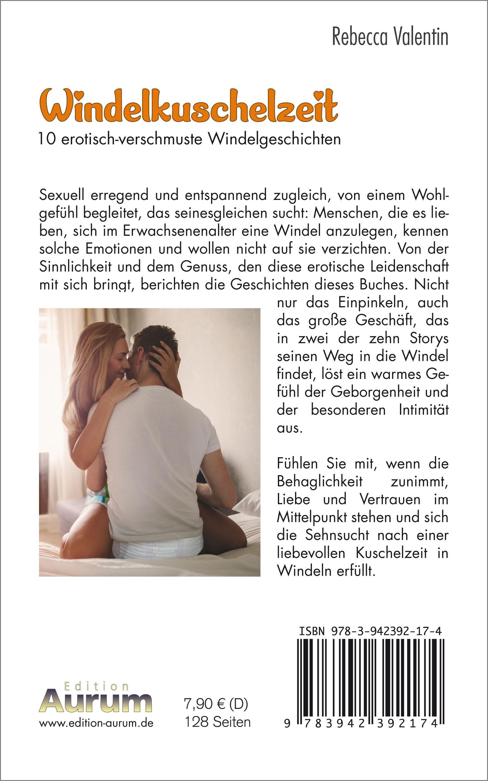 Windelkuschelzeit Buchrücken (Taschenbuch)