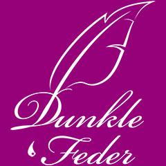 Dunkle Feder