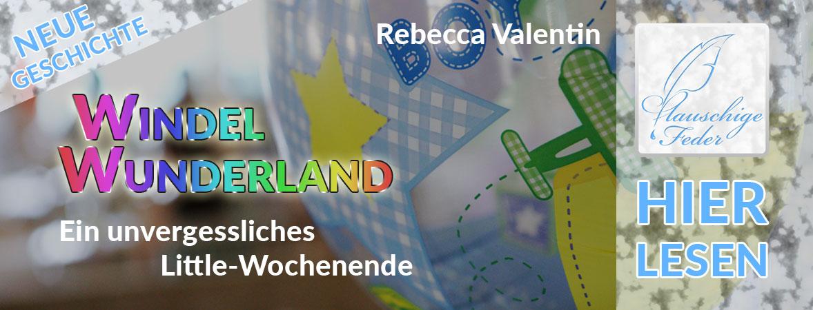 Ankündigung: Windel-Wunderland mit buntem Luftballon