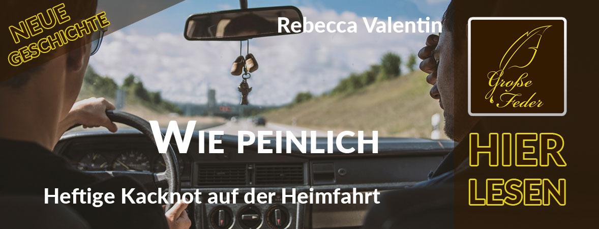"""Symbolbild zu """"Wie peinlich"""": Zwei junge Männer unterwegs im Auto auf der Autobahn."""