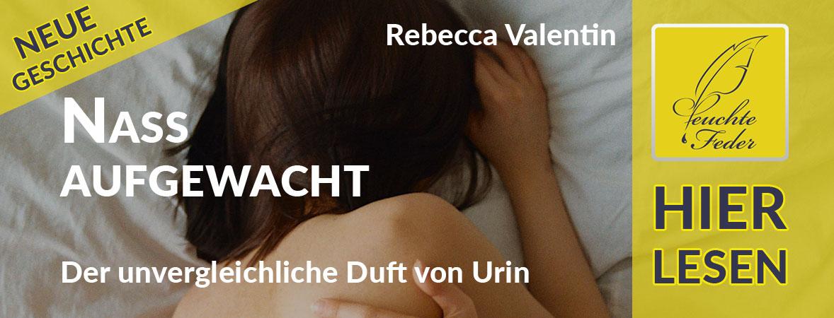 """Symbolbild zu """"Nass aufgewacht"""": Junge Frau liegt weinend auf dem eingenässten Hotelbett."""