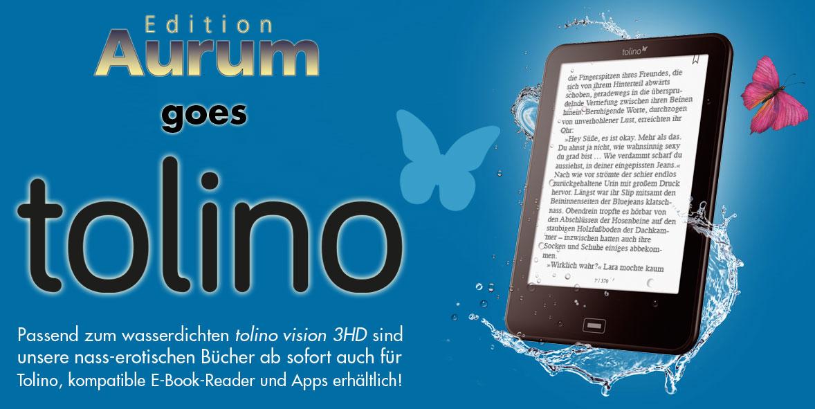 Unsere nass-erotischen Bücher sind ab sofort auch für Tolino erhältlich!